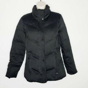 Womens Calvin Klein Puffer Coat Down Black Small